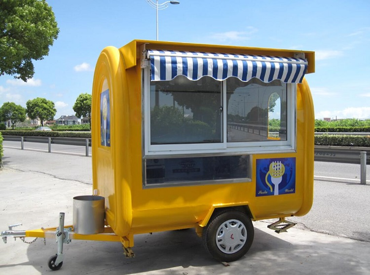 KN-220H Food Cart/ Trailer Machine Paying At 8 O'clock Every Day With Special Offers