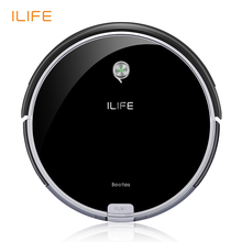 ILIFE A6 Roboter-staubsauger mit Piano Black