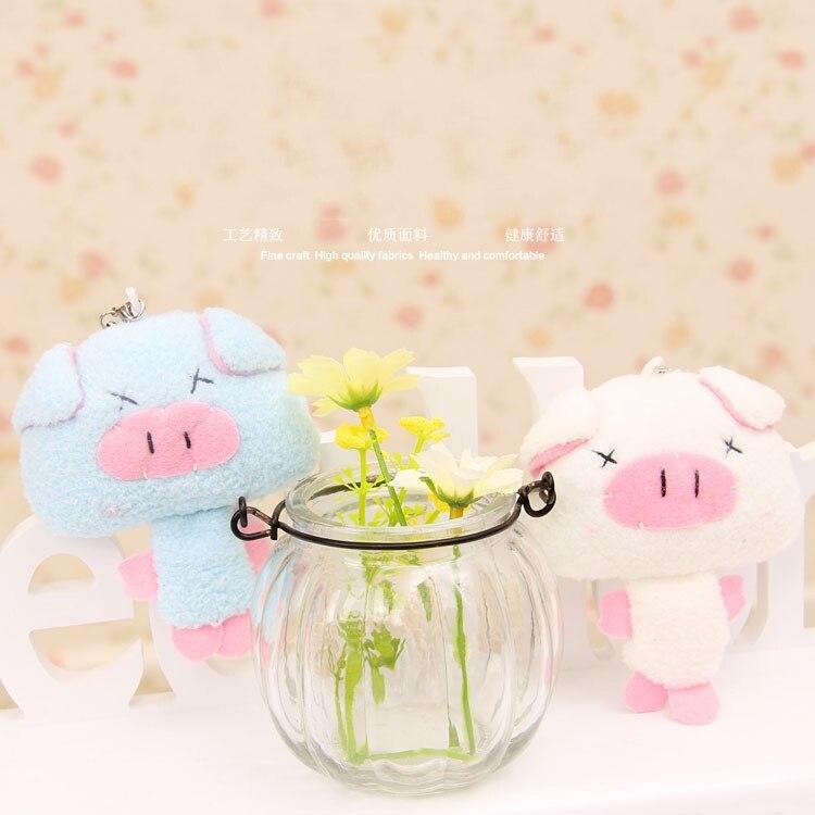 10cm  40 pcs/SET pig Family Plush Doll Stuffed Toy DADDY & MUMMY Pig Plush pig toys Wibbly Pig dolls Stuffed soft Animals toys