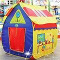 Tipi Barraca Dos Miúdos Macio Dobrável Poliéster Pano Patchwork 1-7year Playhouse Jogue Tenda Barraca Inflável Piscina Com Bolas Hot
