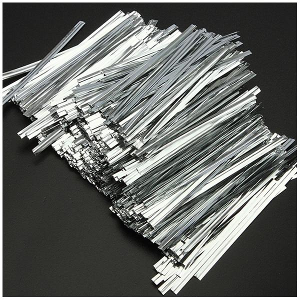 Aliexpress.com : Buy HOT SALE 800x Metallic Twist Ties Wire For Cake ...