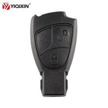 YIQIXIN 3 кнопки ключа автомобиля Замена дистанционного ключа оболочки чехол для Mercedes Benz C B E класс W203 W211 W204 YU BN CLS CLK