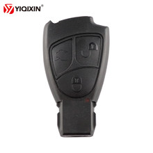 YIQIXIN 3 Button Car Key Replacement Remote Key Shell Case Cover For Mercedes Benz C B E Class W203 W211 W204 YU BN CLS CLK(China)