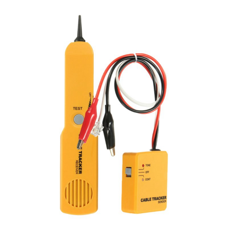 Телефон Сетевой кабель Провода линии тон Провода телефон Finder Tracker Тестер отправителя приемник Сетевое Оборудование детектор Tool Kit + коробка