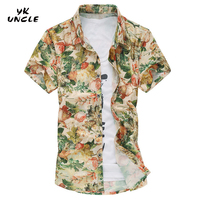 YK UNCLE Brand Hot Sale Fashion Shirts 2017 Summer Men Shirt Short Sleeve Casual Slim Man