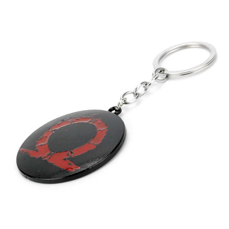 God of War 4 Keychain Chave Anéis De Metal Criativo Bugiganga Pingente Car Chaveiro Mulheres Homens Jóias Chaveiro Llavero