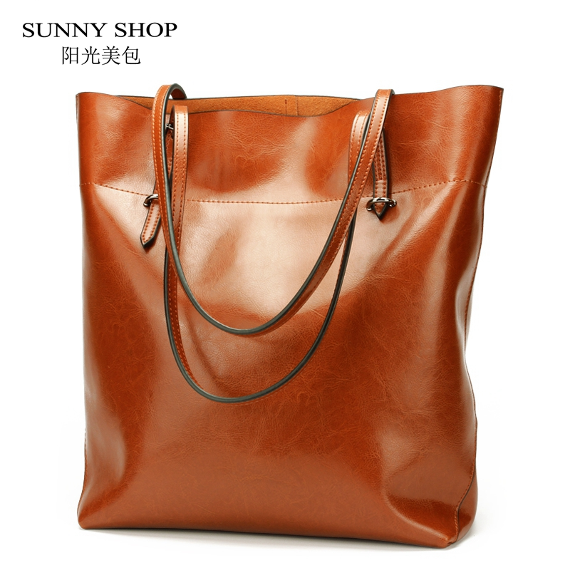 SUNNY SHOP American Luxury Genuine Leather Women Shoulder Bag Fashion Brand Designer Cowhide women Real leather women bag gifts sunny shop 2017 spring new small women shoulder bag high quality genuine leather women bag brand designer handbag gift for lady
