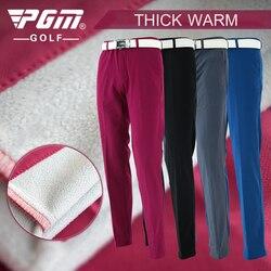 PGM Automne Hiver Imperméables Hommes De Golf Pantalon Épais Garder Au Chaud Coupe-Vent Longue Pantalon Vetements De Golf Pour Hommes De Golf Vêtements