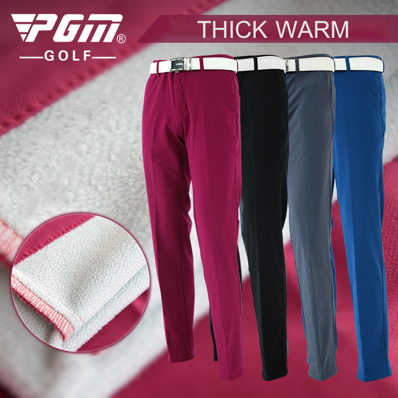 PGM Autumn Winter Waterproof Men Golf Trousers Thick Keep Warm Windproof Long Pants Vetements De Golf Pour Hommes Golf Clothing