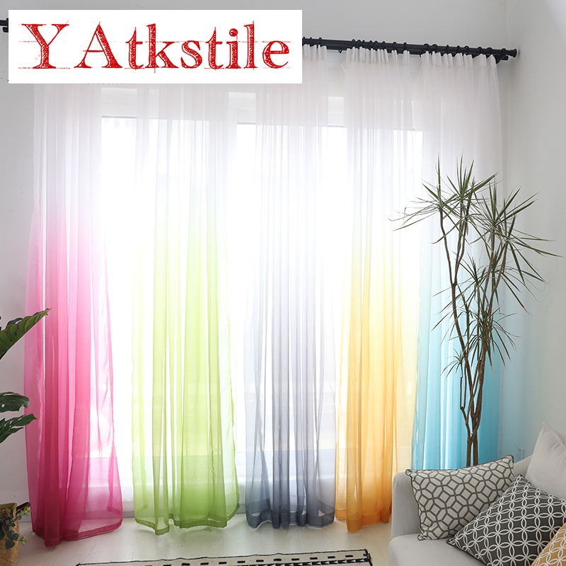 YAtkstile Window Curtain Living Room Modern Home Goods
