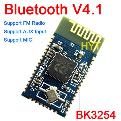 Tracking number BK3254 <font><b>Bluetooth</b></font> V4.1 Stereo Audio <font><b>Module</b></font> Support Infrared Remote FM <font><b>Radio</b></font> AUX