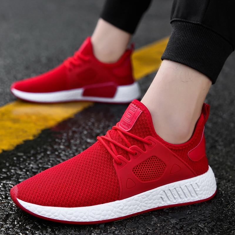 Antideslizante red Black Zapatos Alta Cómodo gray Calidad Negro Suave Adultos Gris Malla Masculinos Verano Zapatillas Rojo 2018 Nuevo Transpirable Hombres HwR7x