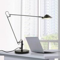 LED work desk lamp desktop student study office bedside lamp adjustable folding American long arm reading light mx7091555