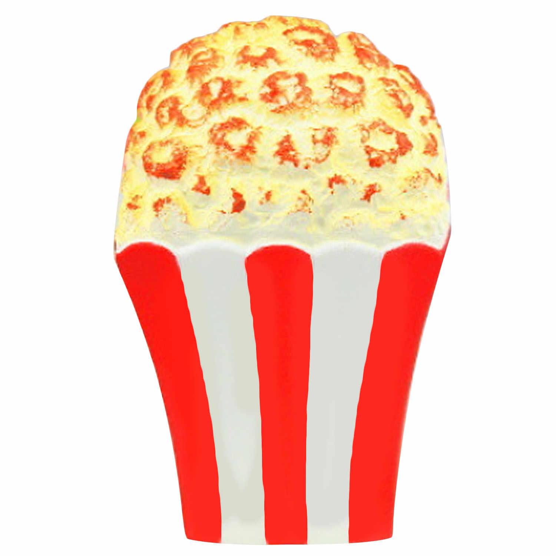 Besegad 13 см большой милый jumbo Kawaii моделирование попкорн мягкими для сжимания медленно распрямляющаяся игрушки для взрослых снимает стресс беспокойство