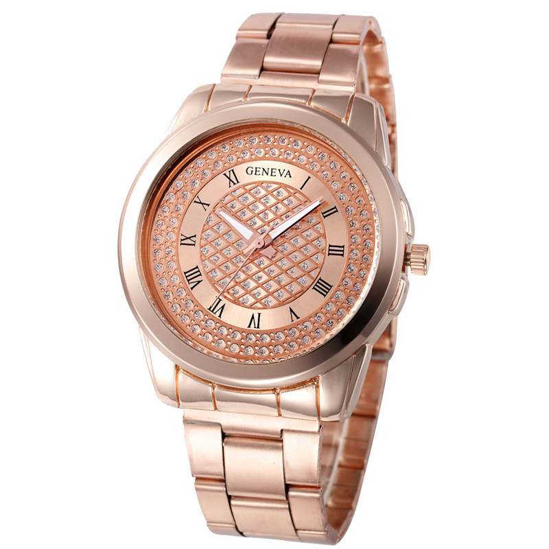 Fashion Watches Women Stainless Steel Sport Quartz Hour Wrist Analog Watch Hot Sale Female Dress Watches Clock Relogio Feminino new arrival fashion women watches analog quartz rhinestone crystal stainless steel wrist watch relogio feminino