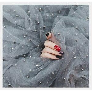 Image 2 - Perle Gaze ins Fotografie Hintergrund Tuch Foto Studio Requisiten Zubehör Hintergrund Dekoration für Kosmetische Nagel öl Telefon Fall