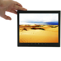 9 7 Inch Small Touch Screen Monitor 1024 768 Metal Shell Resistive Touch Monitor With HDMI