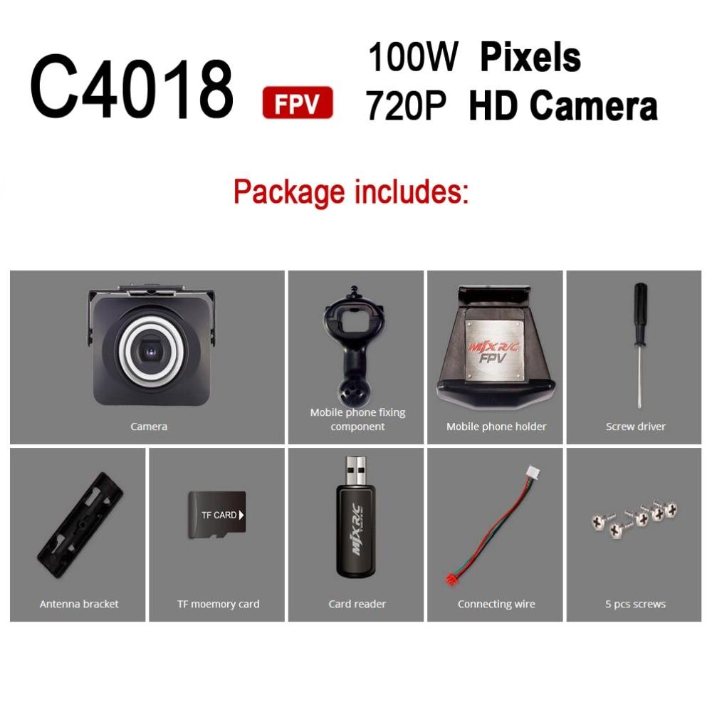 MJX Part C4018 720P HD Wifi FPV Camera For X101 X101 X102 X103 X104 ...