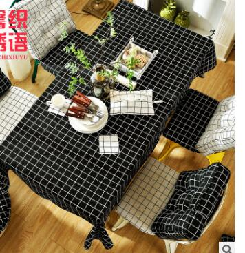 Hot Checkered Tablecloths Home Cotton Linen Cloth Tablecloth Manufacturers  Wholesale Upscale Table Cloth Set In Tablecloths From Home U0026 Garden On ...