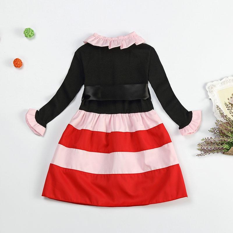 HTB16KK3dYAaBuNjt igq6z5ApXa4 2019 Autumn Winter Girl Dress Long Sleeve Polka Dot Girls Dresses Bow Princess Teenage Casual Dress Daily Kids Dresses For Girls