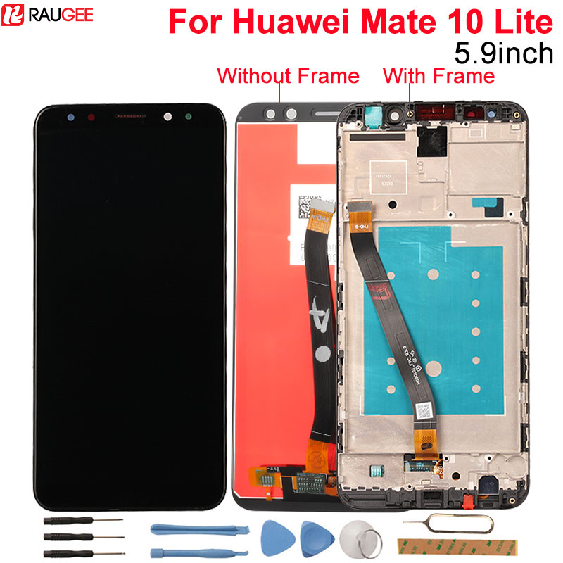 Huawei Mate 10 Lite LCD Display+Touch Screen 5.9 Inch Digitizer Screen Glass Panel Assembly Replacement For Huawei Mate 10 LiteHuawei Mate 10 Lite LCD Display+Touch Screen 5.9 Inch Digitizer Screen Glass Panel Assembly Replacement For Huawei Mate 10 Lite