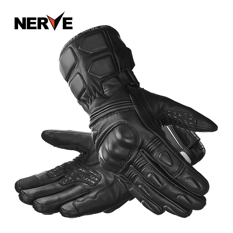 2019 New Winter Warm NERVE Waterproof  Motorcycle Gloves Travel Cowhide Leather Knight Riding Motorbike Racing Glove Windproof2019 New Winter Warm NERVE Waterproof  Motorcycle Gloves Travel Cowhide Leather Knight Riding Motorbike Racing Glove Windproof
