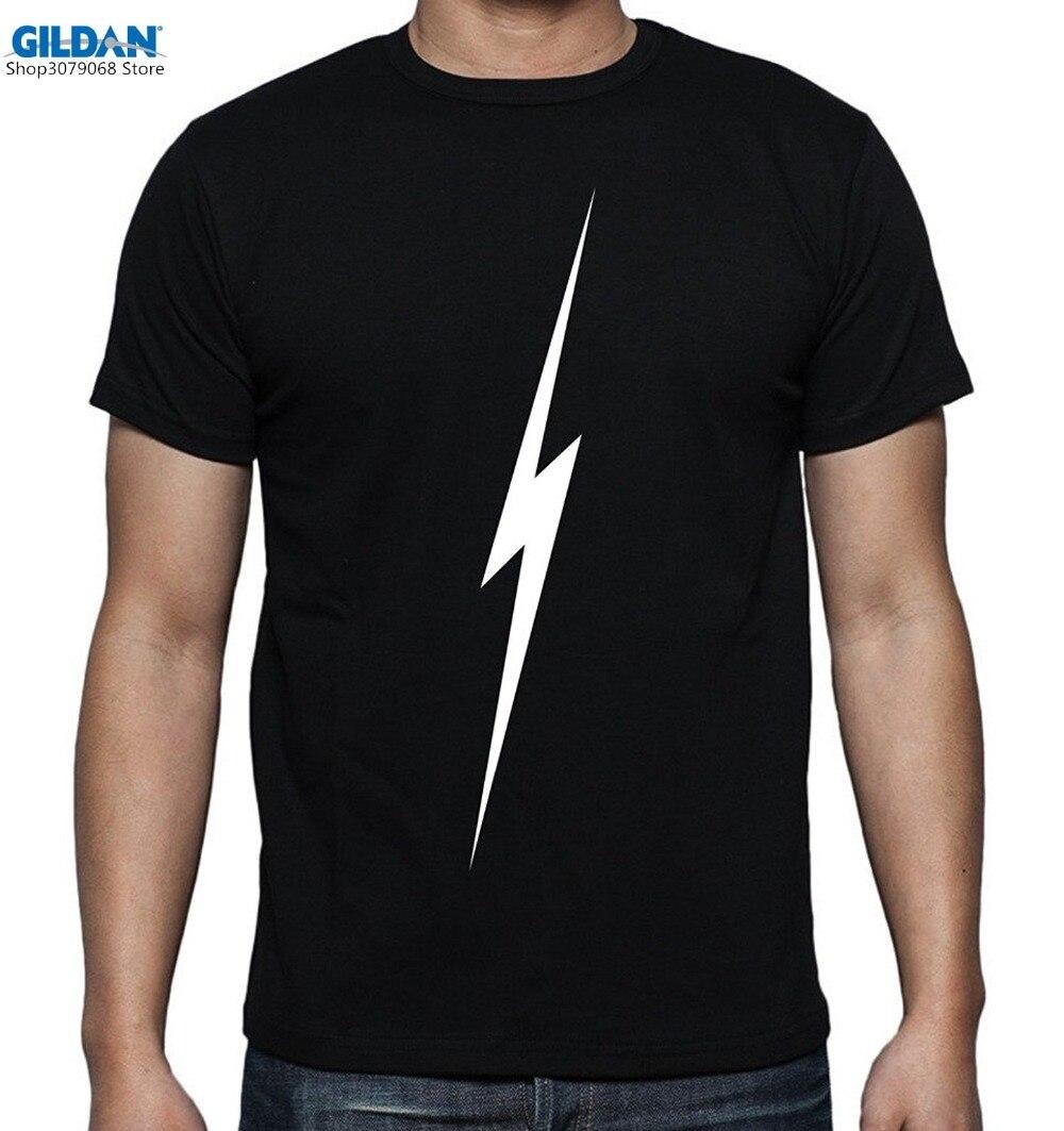 Design t shirts to sell - Gildan 2017 Fashion Hot Sell Casual Streetwear Men S Printed Lightning Thunder Graphic Design T Shirt