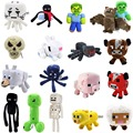 Wholesale 18Pcs/Lot Minecraft Game Plush Toys High Quality Plush Doll Cartoon Toys Minecraft Creeper Doll Classic Toys For Gift