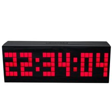 Big Led Digital Clock With Snooze Alarm Calendar Temperature Countdown Function