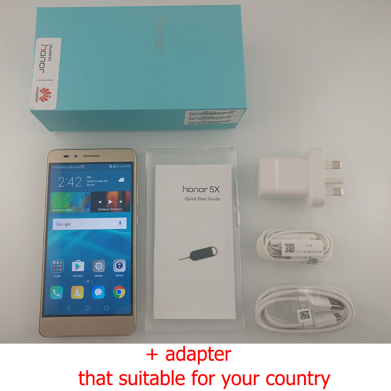 huawei honor 5x. aliexpress.com : buy global version original huawei honor 5x 2gb ram 16gb rom 4g lte mobile phone octa core 5.5\ huawei 5x