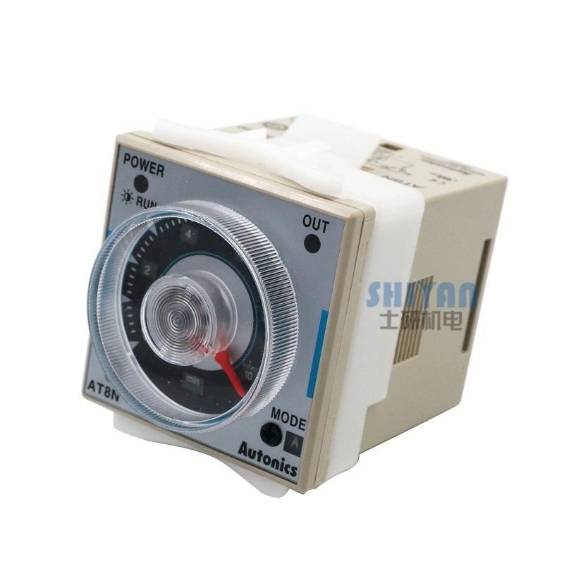 Free shipping Original Genuine Autonics AT8N Multifunction Timer