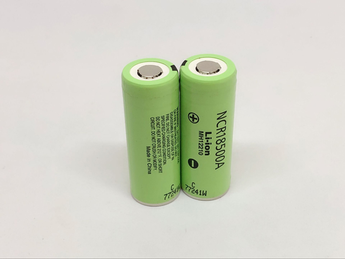 9pcs/lot Panasonic 3.6V NCR18500A 18500 2000mah Li-Ion Battery Rechargeable Batteries