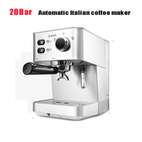 DL DK4682 Italian Coffee Machine Home Commercial Semi automatic Stainless Steel Steam Type Cafe Mocha Espresso Coffee Maker