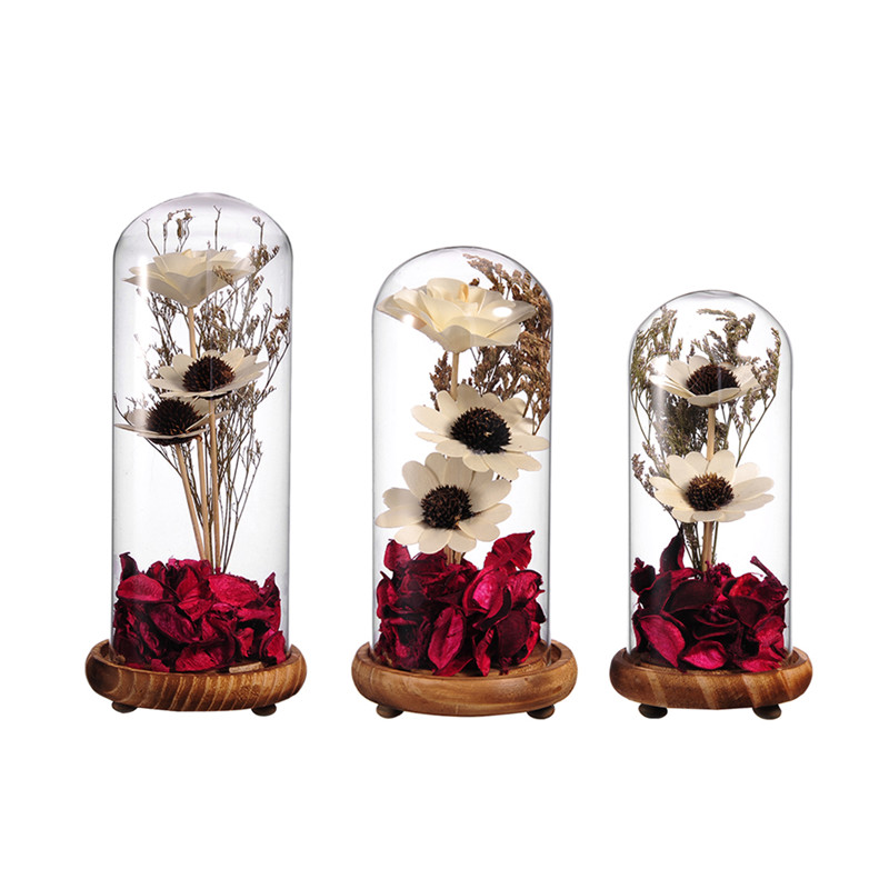 Glass Bamboo Vase