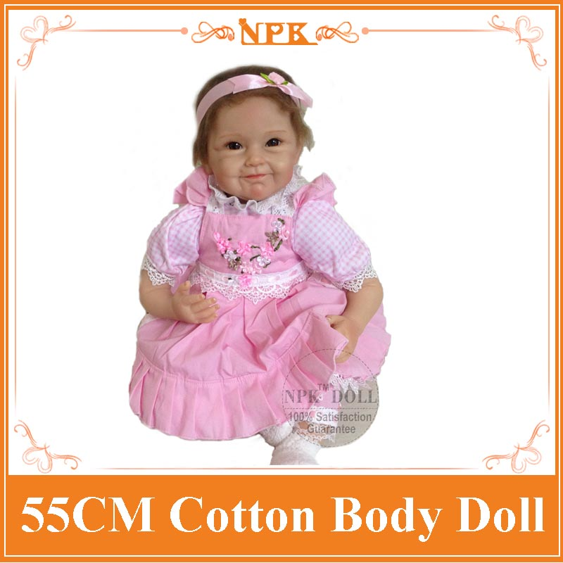 New Arrival 55cm 22 Inch Silicone Reborn Baby Dolls Toy For Sale The Best Gift For