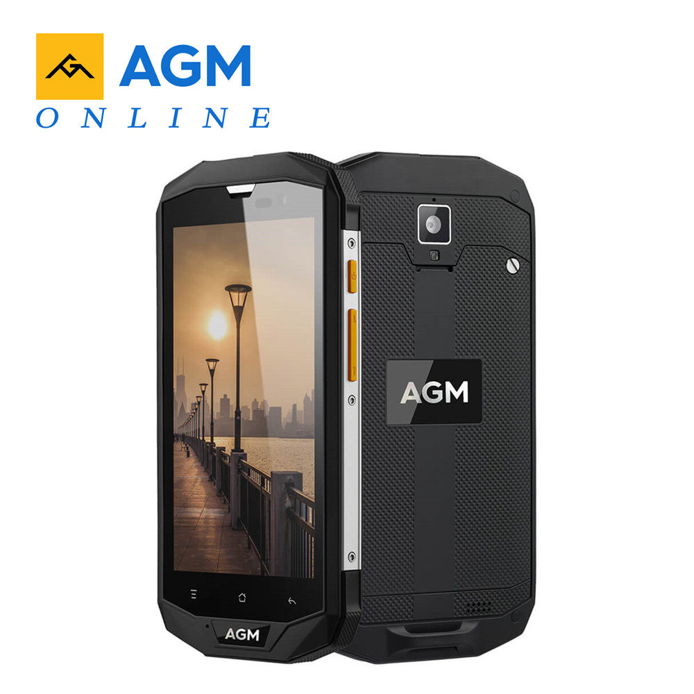 Original AGM A8 EU 4GB RAM 64GB ROM 5 0 HD Shockproof Waterproof Phone IP68 Qualcomm