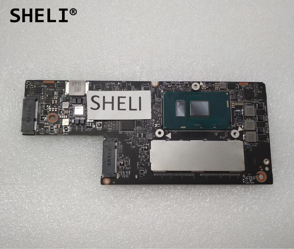 SHELI For Lenovo For YOGA 910 Motherboard With I7-7500U Cpu 8GB Memory CYG50 NM-A901