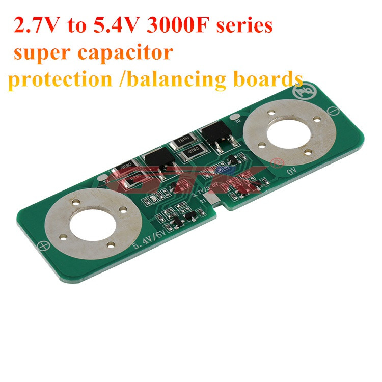Large current 6 string 2.7V 3000F ultracapacitor protection board Balancing New