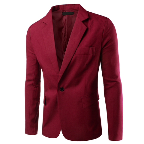 Luxury Men Blazer New Spring Fashion Brand High Quality Cotton Slim Fit Men Suit Terno Masculino Blazers Men Suits & Blazer Islamabad