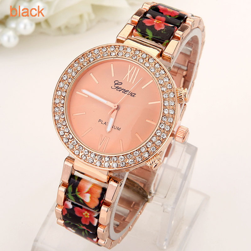 Flowers Women Watch  (9)