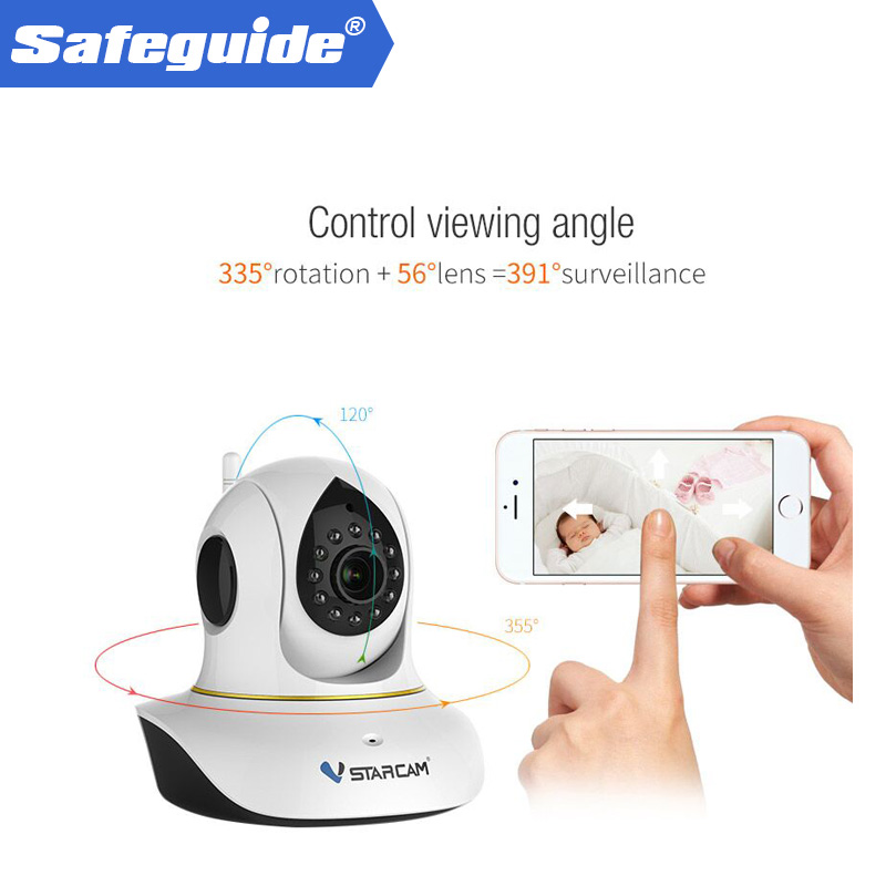 цена на VStarcam C38S full HD 1080 P Wifi IP Camera P2P ONVIF IR Indoor Wireless Cutting P / T Two-way IP Camera Audio ip camera wi-fi