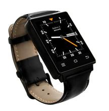 No. 1 d6 3g smart watch android 5.1 1 gb + 8 gb mtk6580 quad Core Smartwatch Bluetooth 4,0 Wifi GPS Pulsmesser Fitness uhr