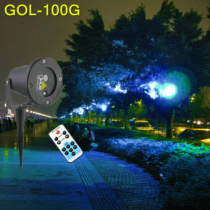 High quality waterproof lawn lamp Blue light outdoor to laser Courtyard Christmas lights landscape lamp high quality single color all over the sky star waterproof outdoor laser lawn lamp christmas landscape light quality guarantee