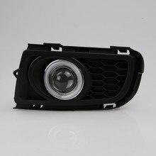 Eosuns CCFL Ангел глаз LED дневного света DRL + Галогенные Противотуманные фары + объектив проектора для Mazda 6 M6 2005 -10