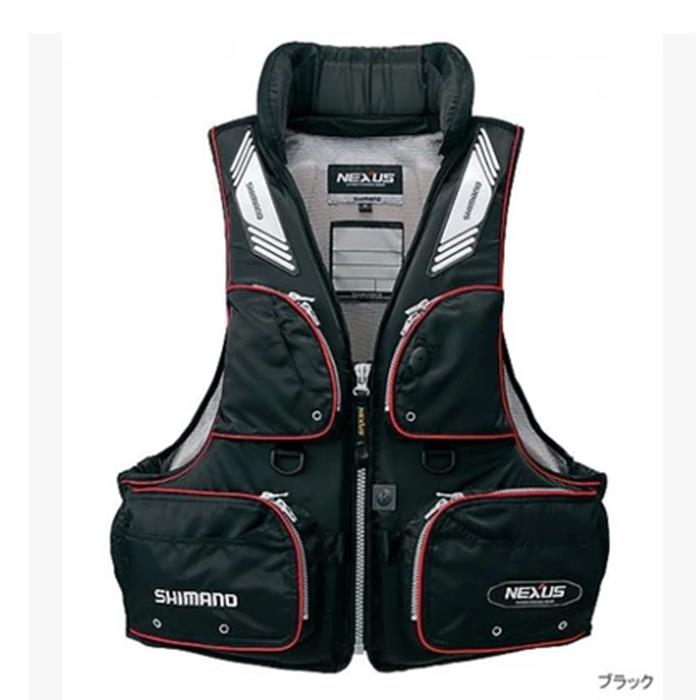 ФОТО 17 NEW shimanos Fishing life jacket buoyancy 120 kg Breathable Vest VF-152G Fishing gear outdoor Breathable Man  Free shipping