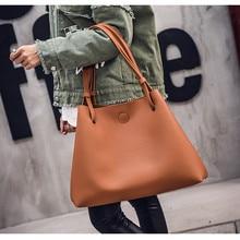 BARHEE Ladies Hand Bags Famous Brand Handbags and Purse Women Fashion Black PU Leather Pochette Shoulder Bag Women Big Bags Hobo