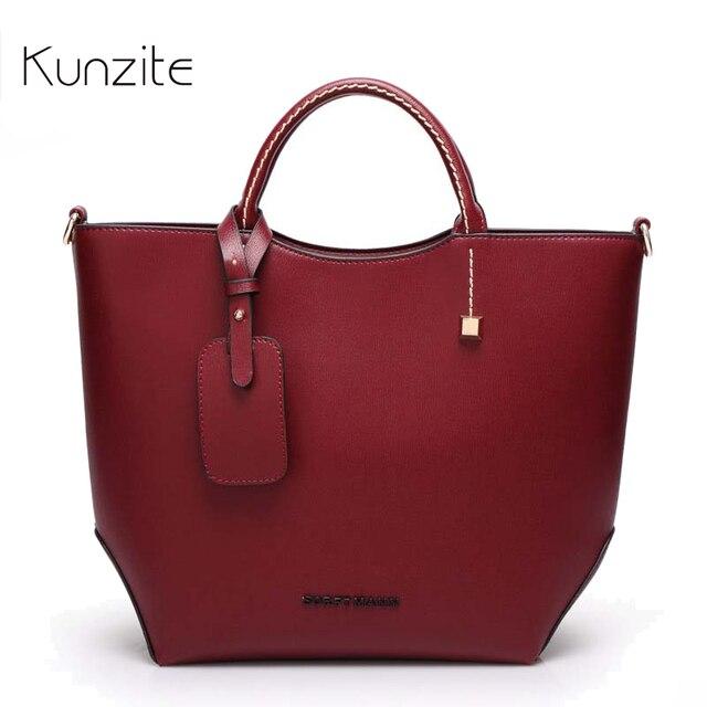 c13c772952c Vintage Lederen Tassen Luxe Vrouwen Designer Handtassen Hoge Kwaliteit Merk  dames Schoudertassen Grote Sling Tote Bag