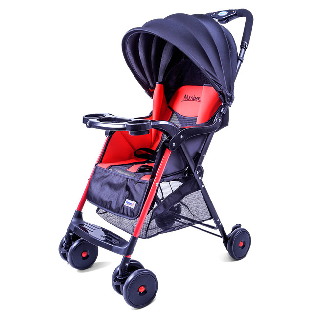 Baby Stroller Pram Stroller Ultra Portable Baby Umbrella Baby Car Foldable Wheelchairs Baby Carriage Stroller