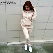 5xl Tracksuits Two Piece Set Women SportSuit Casual Long Sleeve Tops and Pants Female Winter Suit Hoodies Sweatsuit plus size
