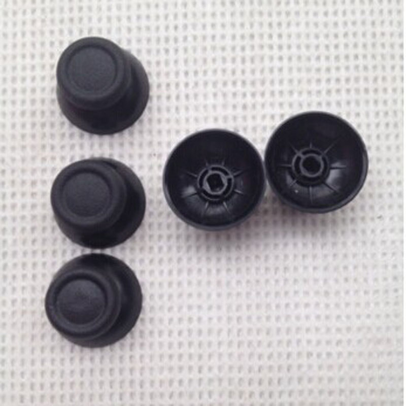 4pieces 3D Analog Joystick Replacement thumb Stick grips Cap Button for Sony PlayStation Dualshock 4 PS4 Controller Thumbsticks